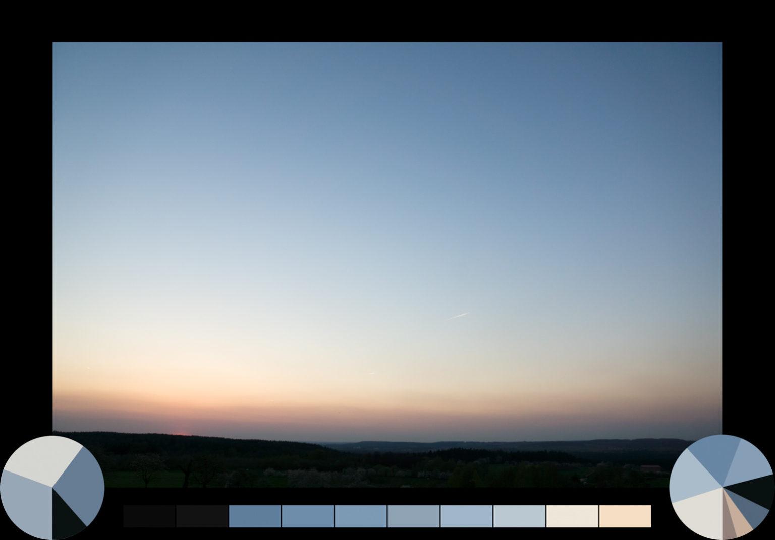 Sonnenuntergang bei Kalchreuth