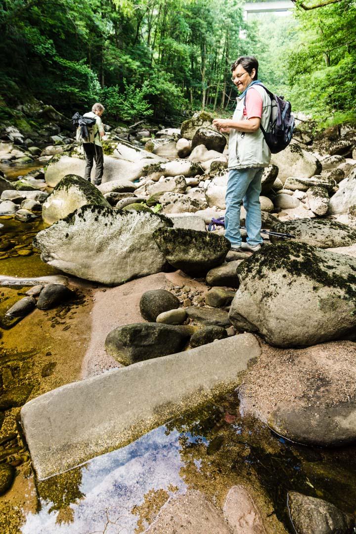 Flussbett der Murg