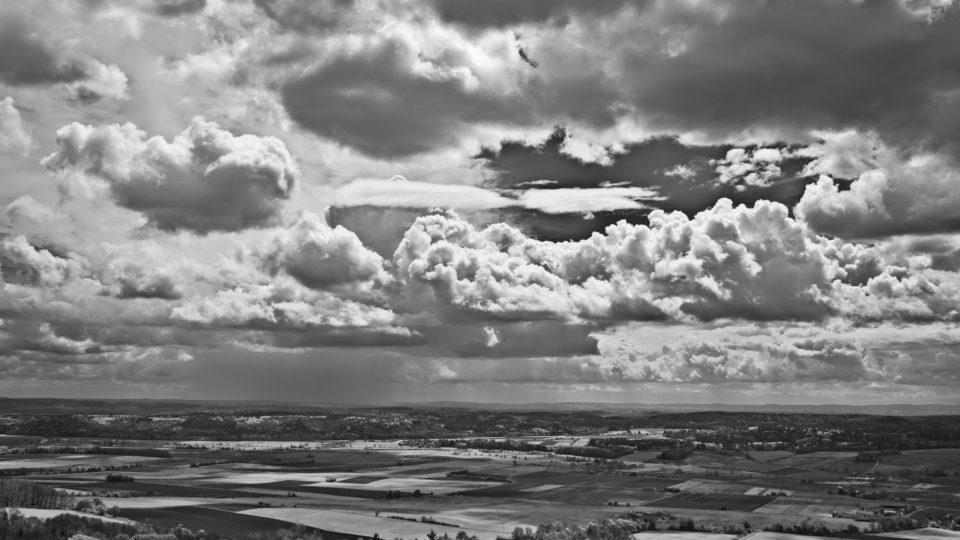 Helle Wolkenformation